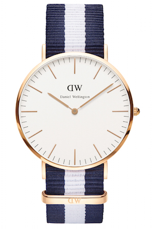 DANIEL WELLINGTON GLASGOW ROSE GOLD 40mm - 0104DW