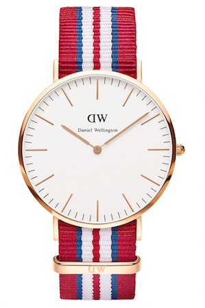 DANIEL WELLINGTON EXETER ROSE GOLD 40 MM - 0112DW