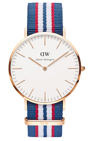 DANIEL WELLINGTON BELFAST ROSE GOLD 40mm - 0113DW