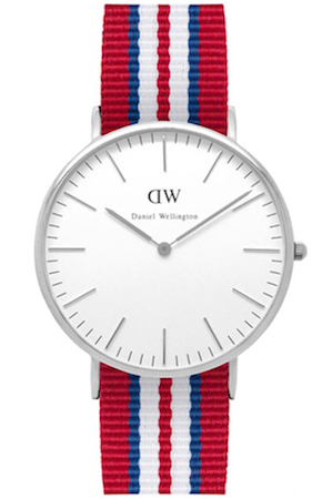 DANIEL WELLINGTON EXETER SILVER 40 MM - 0212DW