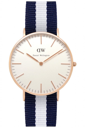 DANIEL WELLINGTON GLASGOW ROSE GOLD 36 MM - 0503DW