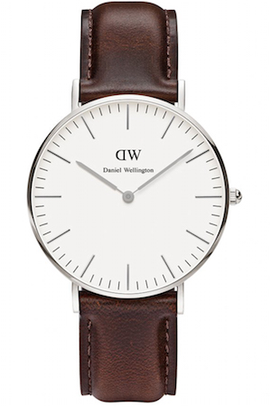 DANIEL WELLINGTON BRISTOL SILVER 36mm - 0611DW