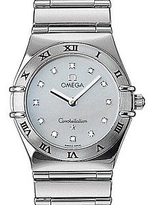 OMEGA CONSTELLATION White Gold Lady - 11737600