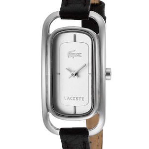 LACOSTE SIENA LADY - SS CASE - LEATHER STRAP - WHITE DIAL - QUARTZ - ONLY TIME - MINERAL GLASS - 20mm - 3atm - 2000722