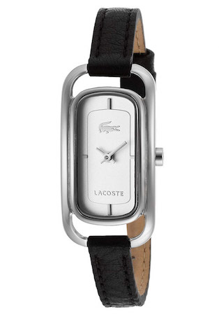 LACOSTE SIENA LADY – SS CASE – LEATHER STRAP – WHITE DIAL – QUARTZ – ONLY TIME – MINERAL GLASS – 20mm – 3atm – 2000722 1