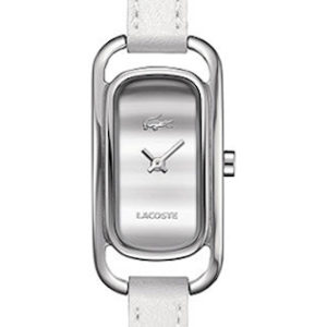 LACOSTE SIENA LADY - SS CASE - LEATHER STRAP - WHITE DIAL - QUARTZ - ONLY TIME - MINERAL GLASS - 20mm - 3atm - 2000723