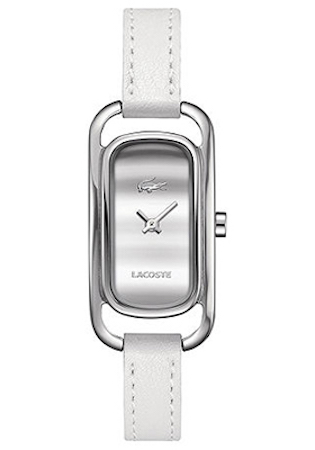 LACOSTE SIENA LADY – SS CASE – LEATHER STRAP – WHITE DIAL – QUARTZ – ONLY TIME – MINERAL GLASS – 20mm – 3atm – 2000723 1