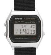 CASIO A158W NATO KHAKIBLACK Timer. Alarm. wr 30 - A158W-NATO_H