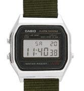 CASIO A158W NATO KHAKI ARMY Timer. Alarm. wr 31 - A158W-NATO_L