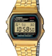 CASIO A159WG-1 Casio A159WG-1 Vintage Chrono. Timer. Alarm. wr 30 - A159WG-1