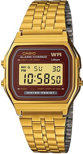 CASIO A159WGEA-5D Vintage Chrono, Timer, Alarm, wr 30 – A159WGEA-5D 1