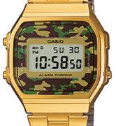 CASIO VINTAGE CAMOUFLAGE A168WEGC-3 Alarm. Chrono - A168WEGC-3