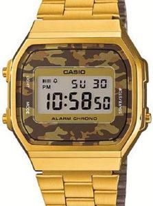CASIO VINTAGE CAMOUFLAGE A168WEGC-5 Alarm. Chrono - A168WEGC-5