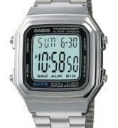 CASIO A178WA-1A Vintage DUAL TIME wr 30 - A178WA-1A