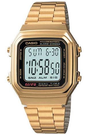 CASIO A178WG-1A Vintage DUAL TIME wr 30 – A178WG-1A 1