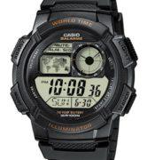 CASIO AE-1000W-1A Date&Date, wr 100, chrono, timer - AE-1000W-1A