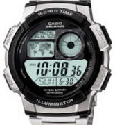 CASIO AE-1000WD-1A Date&Date, wr 100, chrono, timer - AE-1000WD-1A