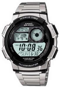 CASIO AE-1000WD-1A Date&Date, wr 100, chrono, timer – AE-1000WD-1A 1