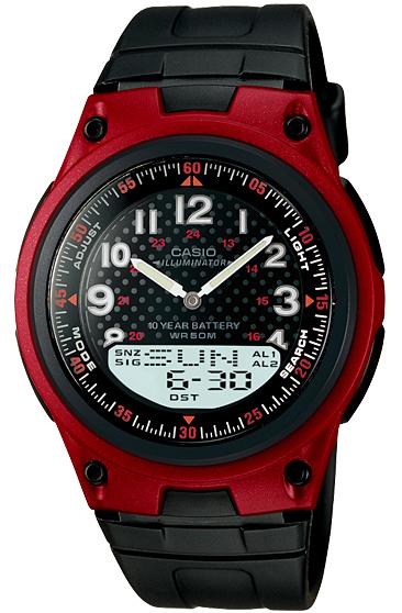 CASIO AW-80-4B  Dual Time, Alarm, Timer, Illuminator – AW-80-4B 1