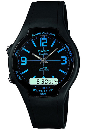 CASIO AW-90H-2  Alarm, Chrono, Data, wr 50 – AW-90H-2 1