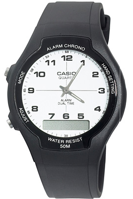 CASIO AW-90H-7B Alarm, Chrono, Data, wr 50  – AW-90H-7B 1