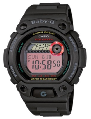 CASIO BABY G Shock Resistant Resin band wr 200 mt - BLX102-1ER