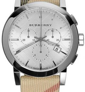 BURBERRY BU9357 ANALOG QUARTZ CHRONO SWISS MOVEMENT - BU9357