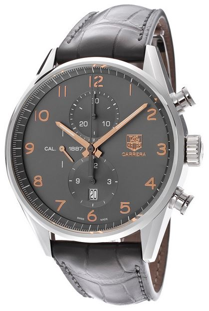 TAG HEUER CARRERA CAL 1887 ANTHRACITE 43 MM – CAR2013-FC6313 1