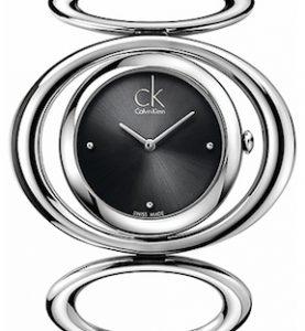 CK CALVIN KLEIN WATCH GRACEFUL LADY - SS CASE - SS STRAP - QUARTZ   - ONLY TIME - MINERAL GLASS - 36mm - 3atm - CK1P23104