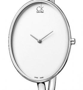 CK CALVIN KLEIN WATCH SARTORIALLY LADY - SS CASE - SS STRAP - QUARTZ   - ONLY TIME - MINERAL GLASS - 36mm - 3atm - CK3D2M116
