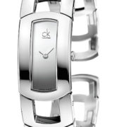 CK CALVIN KLEIN WATCH DRESS LADY - SS CASE - SS STRAP - QUARTZ   - ONLY TIME - MINERAL GLASS - 36mm - 3atm - CK3Y2M118