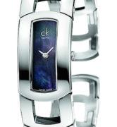 CK CALVIN KLEIN WATCH DRESS LADY - SS CASE - SS STRAP - QUARTZ   - ONLY TIME - MINERAL GLASS - 36mm - 3atm - CK3Y2M11F