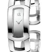 CK CALVIN KLEIN WATCH DRESS LADY - SS CASE - SS STRAP - MOP DIAL - QUARTZ   - ONLY TIME - MINERAL GLASS - 36mm - 3atm - CK3Y2S118