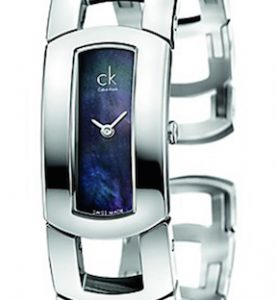 CK CALVIN KLEIN WATCH DRESS LADY - SS CASE - SS STRAP - MOP DIAL - QUARTZ   - ONLY TIME - MINERAL GLASS - 36mm - 3atm - CK3Y2S11F