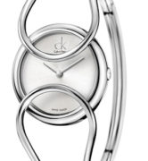 CK CALVIN KLEIN WATCH INCLINED LADY - SS CASE - SS STRAP - SILVER DIAL - QUARTZ   - ONLY TIME - MINERAL GLASS - 36mm - 3atm - CK4C2M116