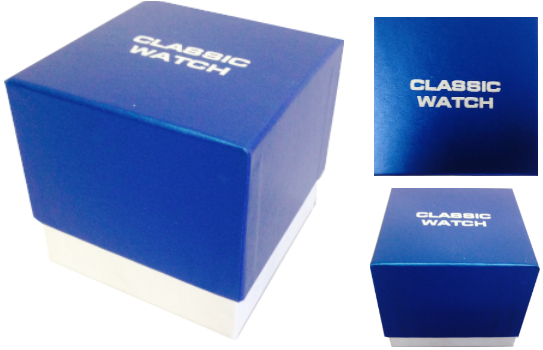 CLWBOX - Scatola neutra per orologi / neutral watch box - CLWBOX