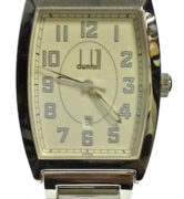 DUNHILL CITY SCAPE SS CASE AND STRAP - DQ1923MM