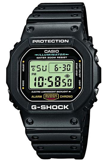 CASIO G-SHOCK DW-5600E-1V Multifunction, Alarm, Stopwatch, Countdown timer, WR 200mt  – DW-5600E-1V 1