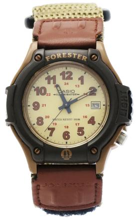 CASIO FORESTER FT-500WV-5 KHAKI SAND leather+cordura data