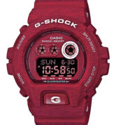 CASIO G-SHOCK GD-X6900HT-1ER RED Chrono. Resin Case & Strap. Super Auto led. Yacht Timer. 3 alarms. Snooze. Automatic calendar. WR 200 mt - GD-X6900HT-4ER