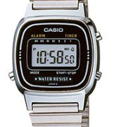 CASIO LA-670WA-1 Vintage Chrono, Alarm, Timer, wr 30 - LA-670WA-1