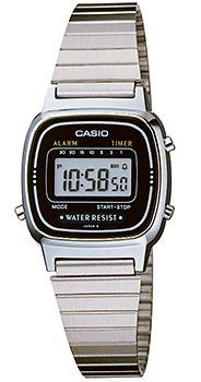 CASIO LA-670WA-1 Vintage Chrono, Alarm, Timer, wr 30 – LA-670WA-1 1