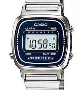 CASIO LA-670-WA-2 Vintage Chrono, Alarm, Timer, wr 30  - LA-670WA-2