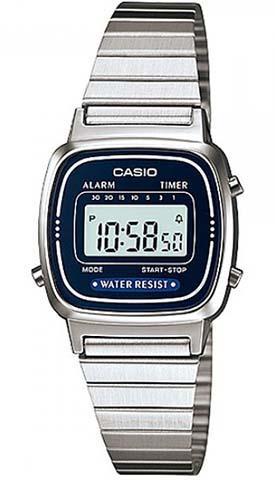 CASIO LA-670-WA-2 Vintage Chrono, Alarm, Timer, wr 30  – LA-670WA-2 1