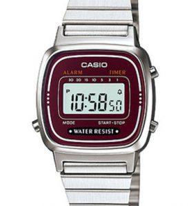 CASIO LA-670WA-4 Vintage Chrono, Alarm, Timer, wr 30 - LA-670WA-4