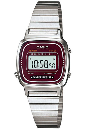 CASIO LA-670WA-4 Vintage Chrono, Alarm, Timer, wr 30 – LA-670WA-4 1