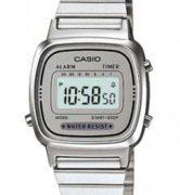 CASIO LA-670-WA-7 Vintage Chrono, Alarm, Timer, wr 30 - LA-670WA-7