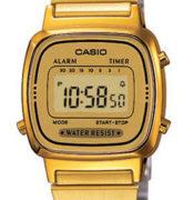 CASIO LA-670WG-9 Vintage Chrono, Alarm, Timer, wr 30 - LA-670WG-9