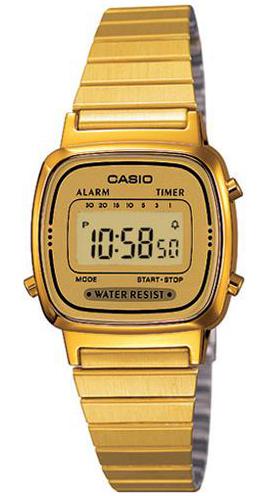 CASIO LA-670WG-9 Vintage Chrono, Alarm, Timer, wr 30 – LA-670WG-9 1