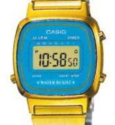 CASIO LA-670WGA-2 Vintage Chrono, Alarm, Timer, wr 30 - LA-670WGA-2